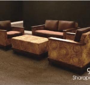 Sharapova Wicker Living Set