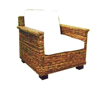 Beverly Wicker Arm Chair
