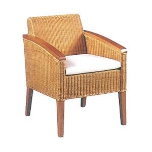 Cassandra Rattan Arm Chair