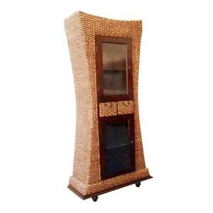 Wicker Bookcase