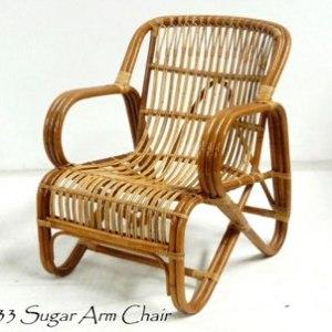Sugar Rattan Arm Chair