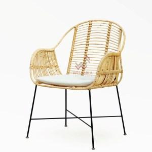 Frank Rattan Arm Chair