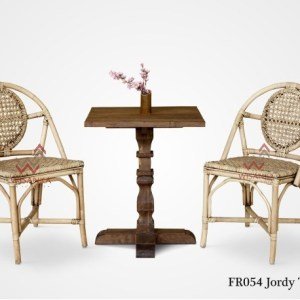 Jordy Rattan Terrace Set