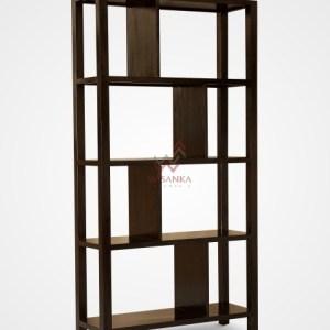 Maho Wooden Bookcase