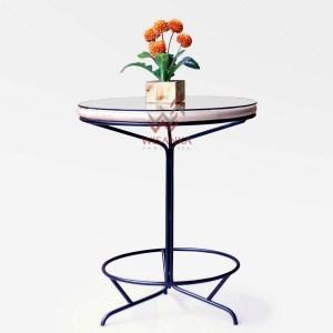 Sun Rattan Side Table