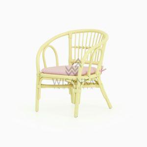 Jimmy Rattan Kids Chair yellow with watermark