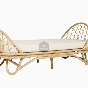 Marion Rattan Toddler Bed