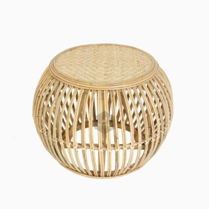 Theo Round Rattan Coffee Table