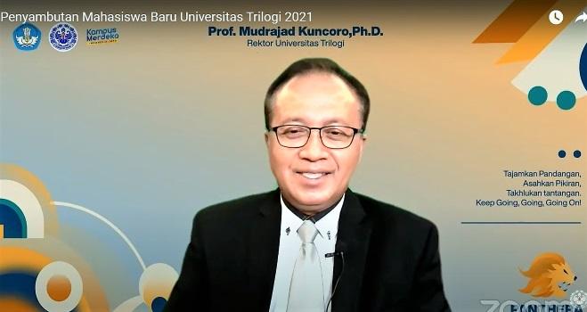 Prof Mudrajad Kuncoro: Bumikan Sistem Ekonomi Pancasila Dengan Bangun Generasi Pancasilais dan Merajut Kebhinekaan