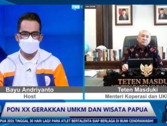 Teten Masduki: PON XX Akan Gerakkan Pelaku UMKM di Papua Saat Pandemi