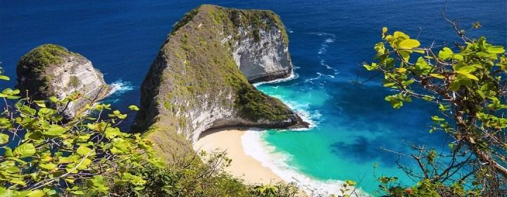 Kustlijn Nusa Penida Island