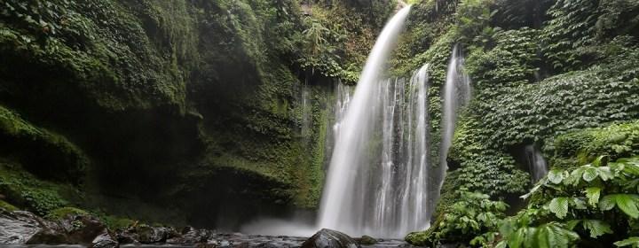 Air Terjun Sindang Gila, de 'Slightly Crazy' waterval nabij Senaru Village