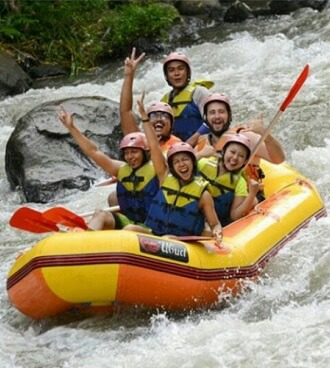 White Water Rafting Ayung River - Bali