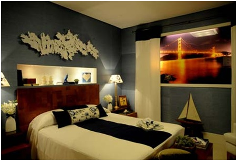 Decorate a room without windows