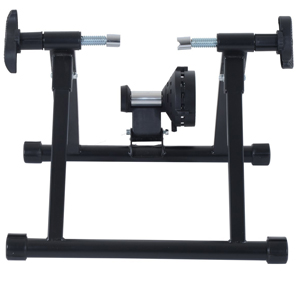 Soozier Magnetic Resistance Cycling Indoor Bike Trainer Stand – Black