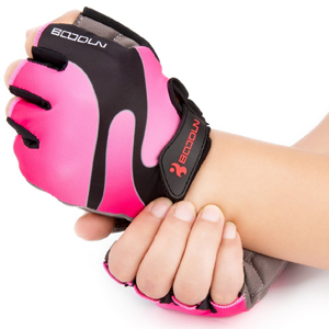 Cycling Gloves with Shock-absorbing Foam Pad Breathable Half Finger Bicycle Gloves Bike Gloves B-001