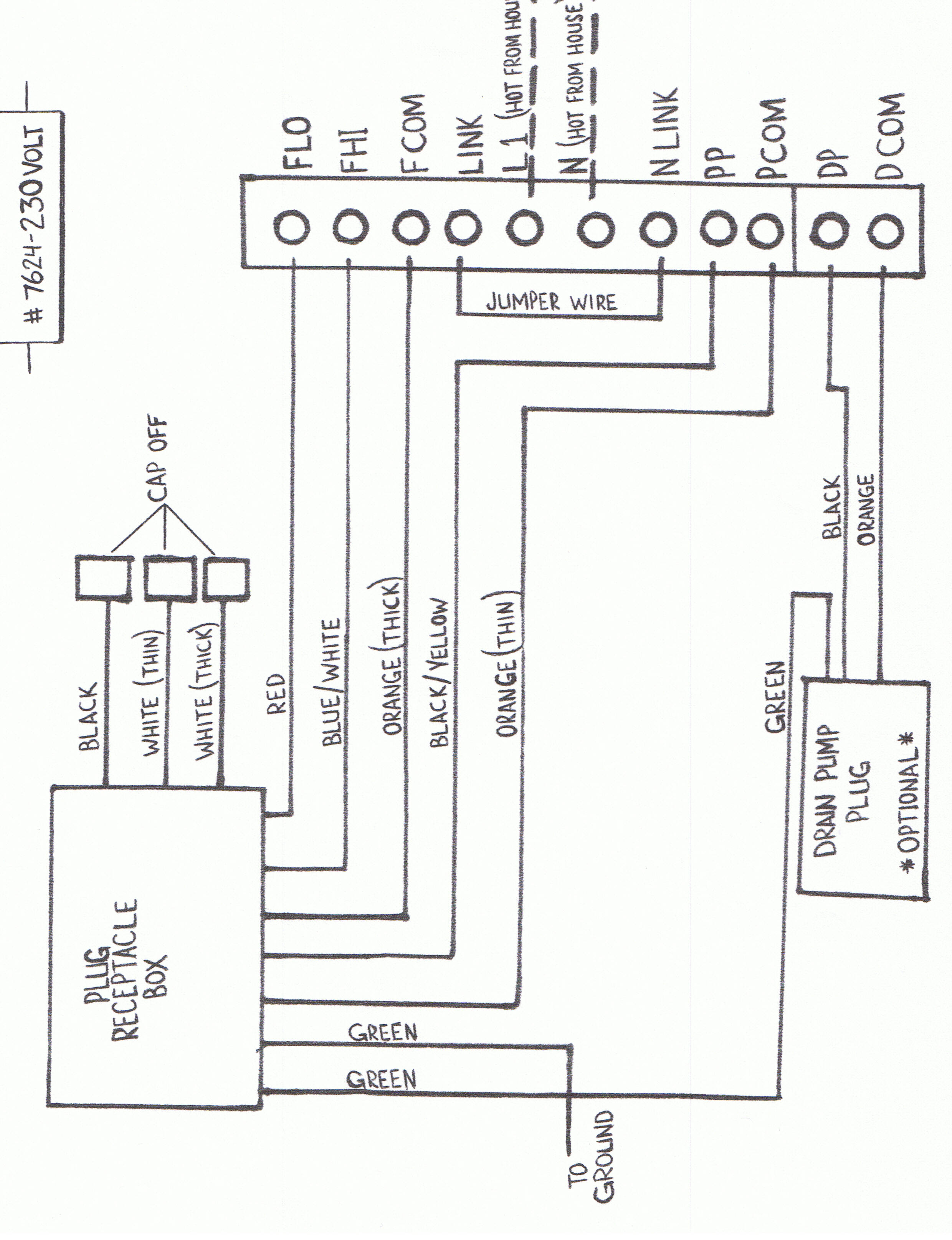 Aspen Mini White Condensate Pump Wiring Diagram