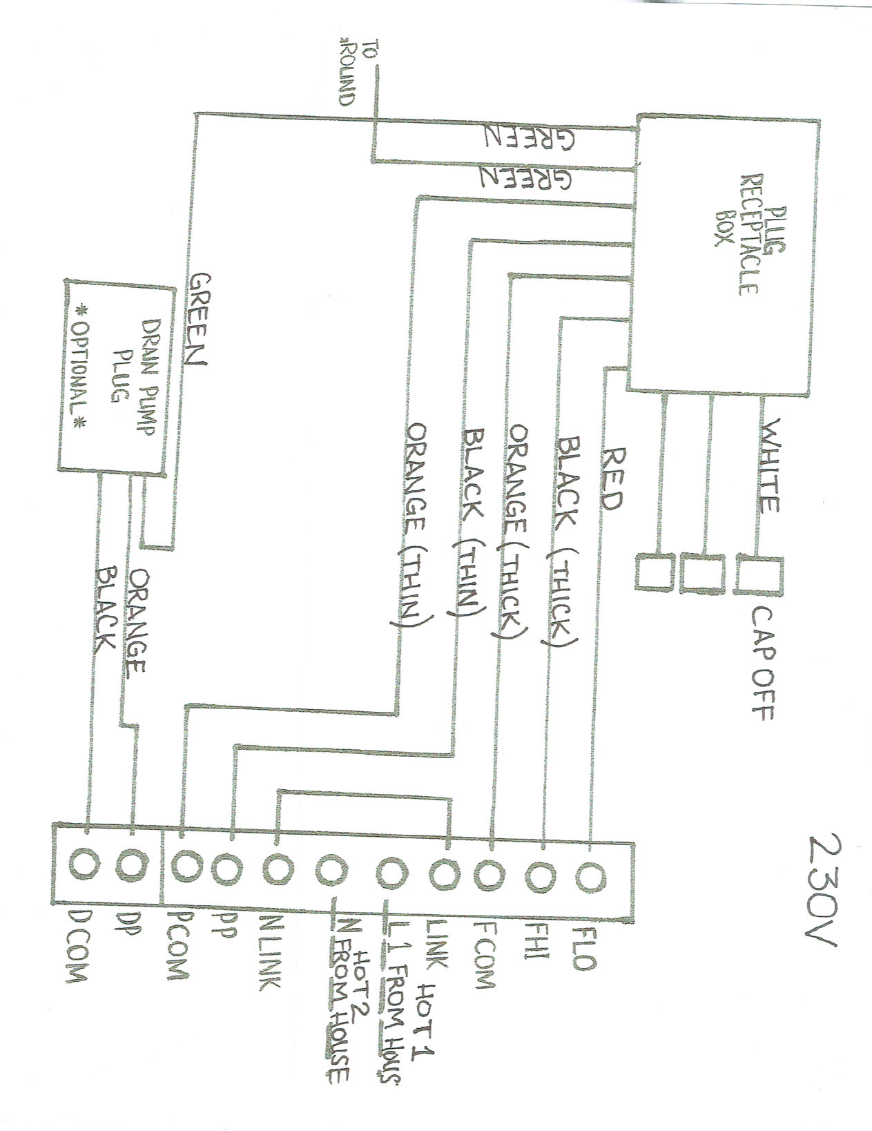 hight resolution of port a cool evaporator fan wiring diagram