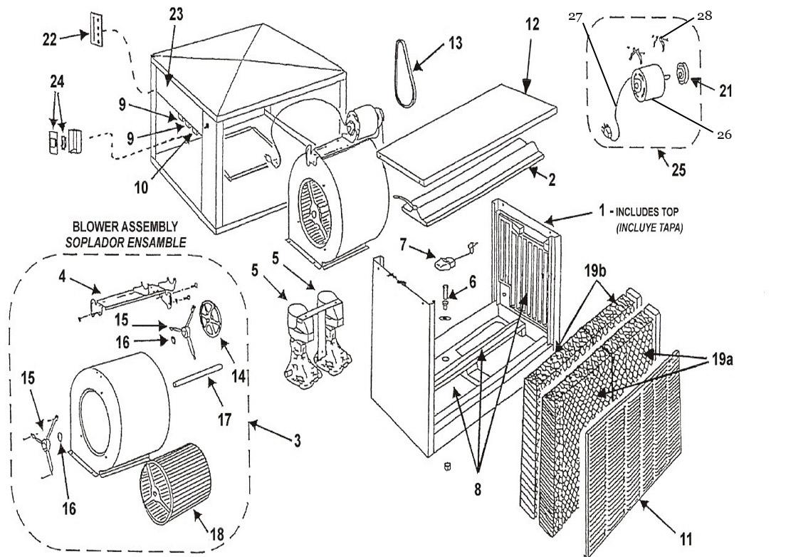Evaporative Cooler Pump Wiring Diagram