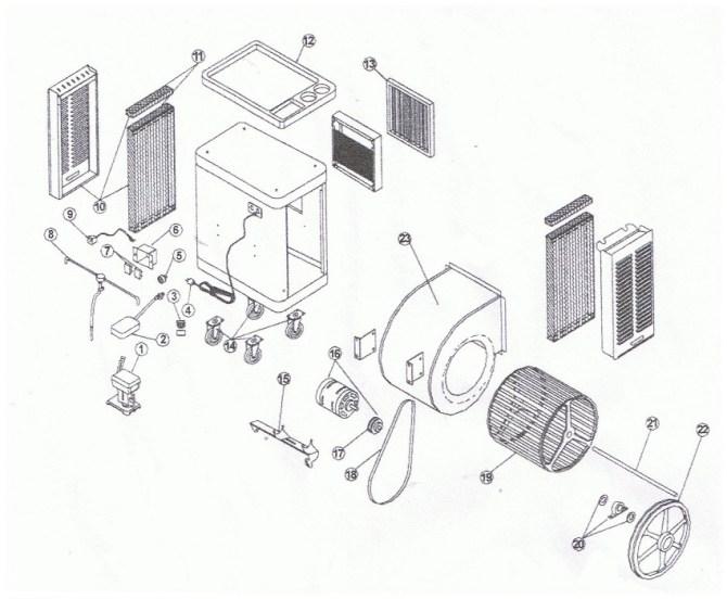 adobeair mobile mastercool mmb10 ac parts breakdown list