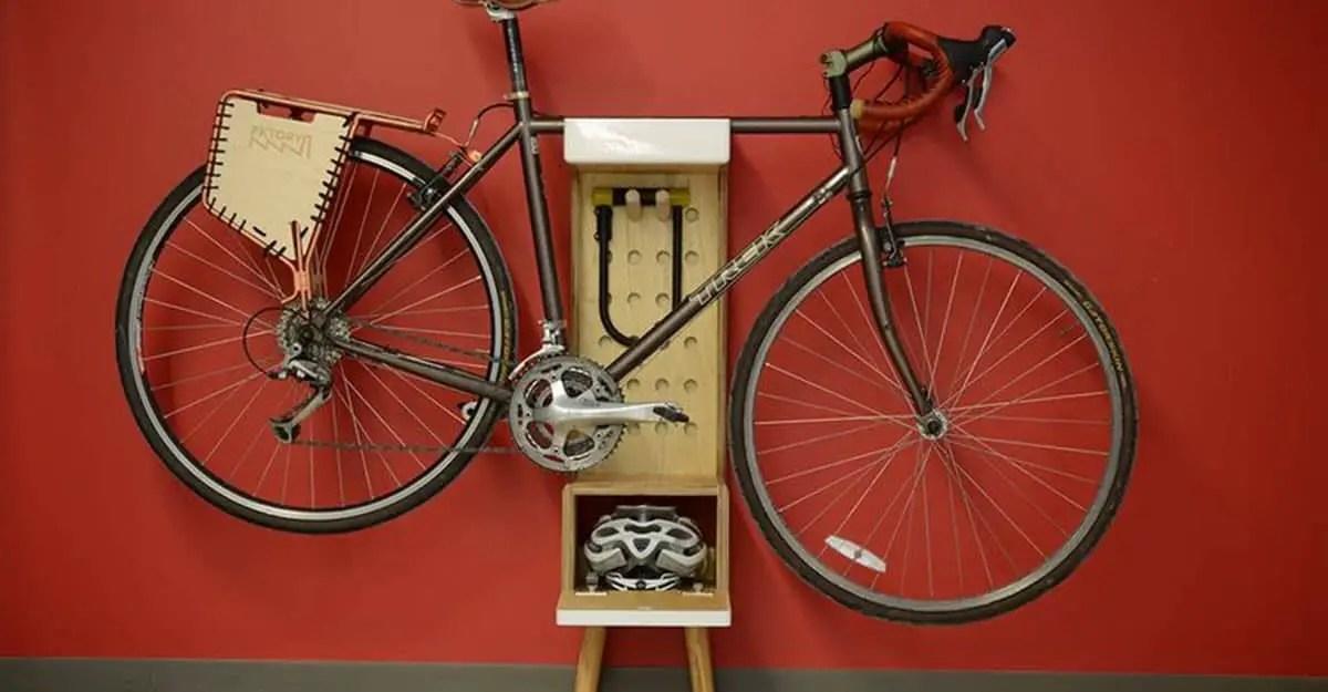 free standing indoor bike storage options