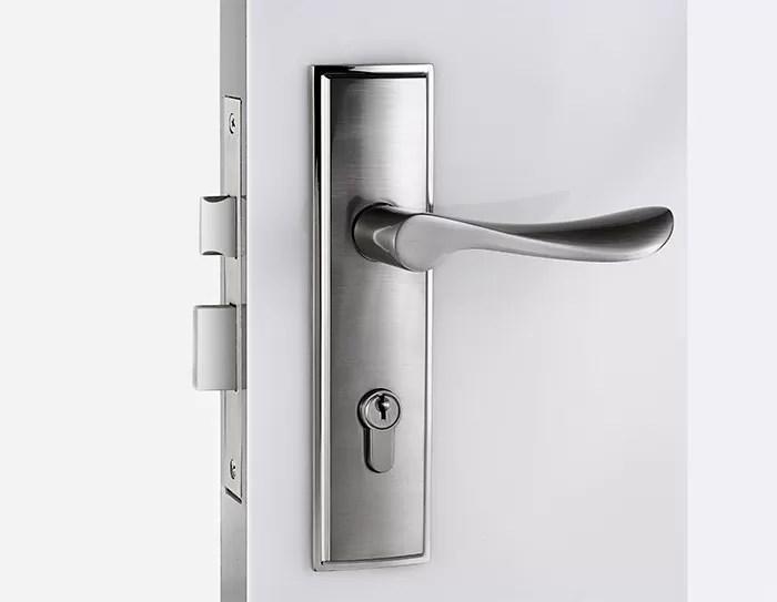 Satin Nickel Mortise Door Lock  Room Door Mortise Latch