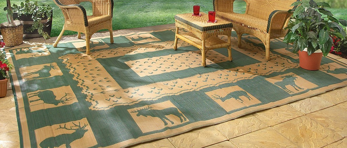 best large outdoor mat