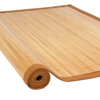 Bamboo Area Rug: 5' x 8' Large Sized Indoors Outdoors Mat