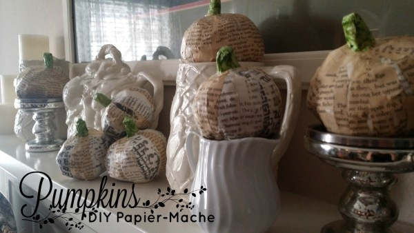 DIY Papier Mache Autumn Craft Tutorial
