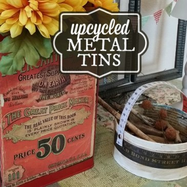 Upcycle Old Tins with Chalk Paint