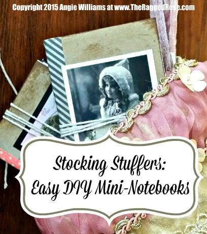 Mini DIY Notebooks Craft Tutorial