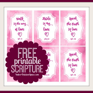 Free Valentines Day Scripture Cards