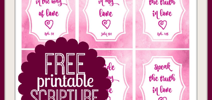 Free Valentines Day Scripture Cards – Verses for Valentine Cards