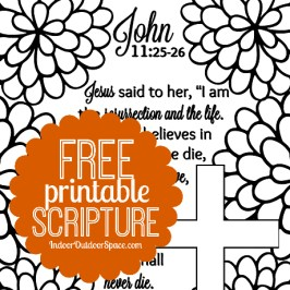 Easter Kids Coloring Page Free Scripture Printable