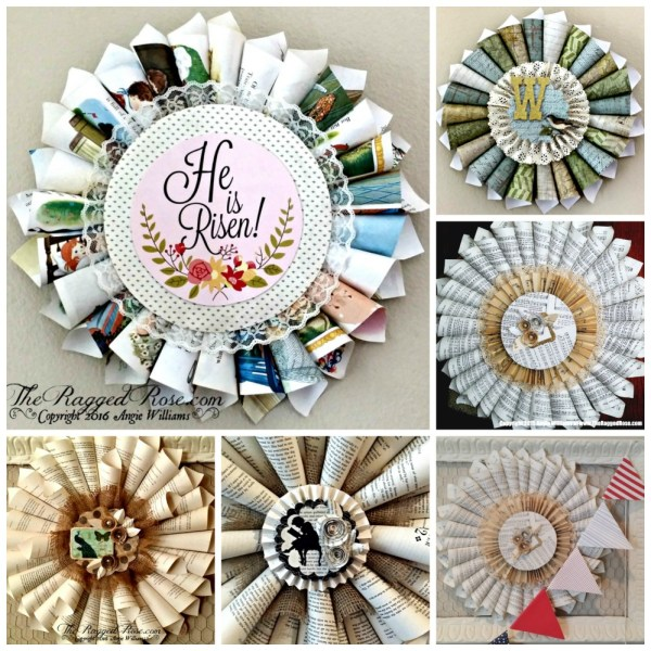 Easter-Spring-paper-cone-wreath-tutorial