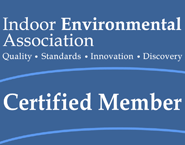 Indoor Environmental Association Certification Logo Mold Problem