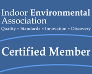 Indoor Environmental Association Certification Logo