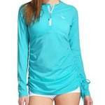 Baleaf Women's Long Sleeve Half-Zip