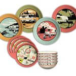 Camp Casual (CC-001) Melamine 12-Piece Camping Dish Set