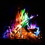 Colorful Campfire