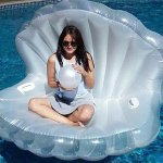 Large Clam Swim Floatie Chair