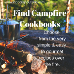 Campfire Recipe Books for Camping Fire Pit Cooking
