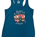 Secret Treasures RV Happy Camper Pajama Tank Top Shirt