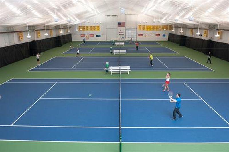 Indoor Tennis Courts Lighting
