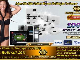 Agen Qiu Qiu Online Bonus Rollingan Terbesar