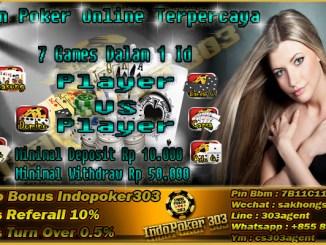 Agen Resmi Judi Poker Online Tanpa BOT