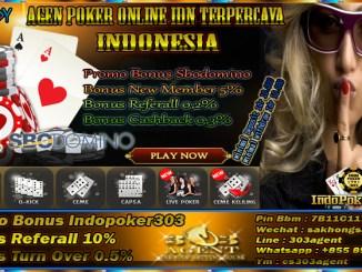 Agen Poker Online Bonus Member Baru Terbesar