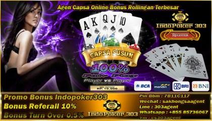Agen Capsa Online Bonus Rollingan Terbesar