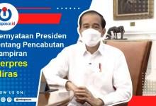, Pernyataan Presiden Tentang Pencabutan Lampiran Perpres Miras