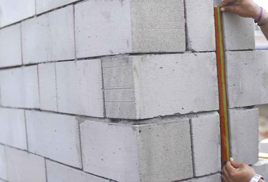 Jenis beton untuk dinding